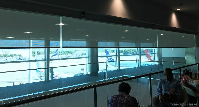 Avianca VIP Lounge Miami utsikt