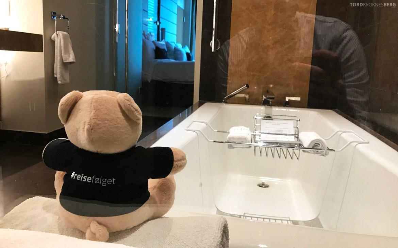 JW Marriott Marquis Miami reisefølget bad