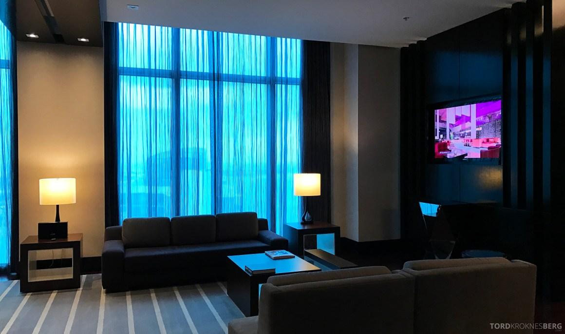Presidential Suite JW Marriott Marquis Miami stue