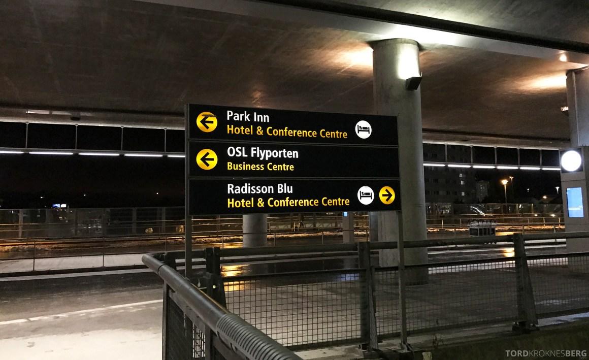 Radisson Blu Oslo Airport Hotel suite fra terminal