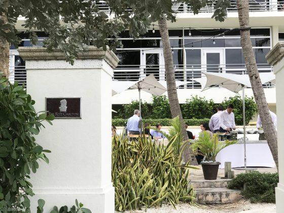 The Ritz Carlton South Beach Miami Dilido Beach Club inngang