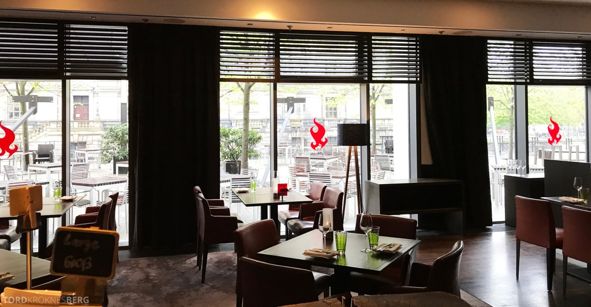 Restaurant Heat Radisson Blu Berlin stemning