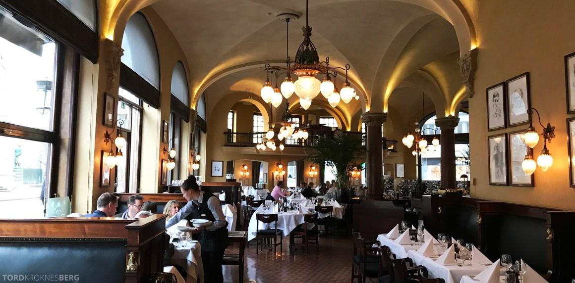 Restaurant Theatercafeen Oslo oversikt