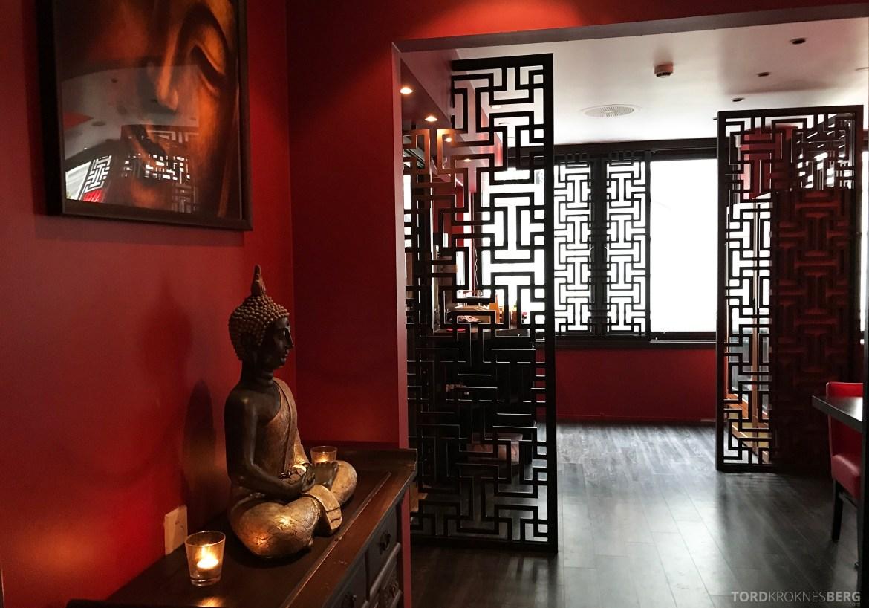 Mahayana Asian Dining Oslo interiør