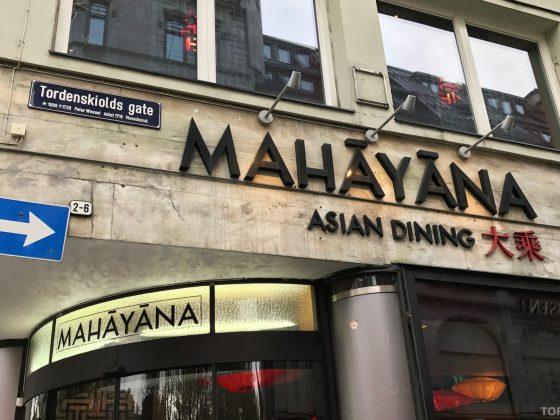 Mahayana Asian Dining Oslo fasade