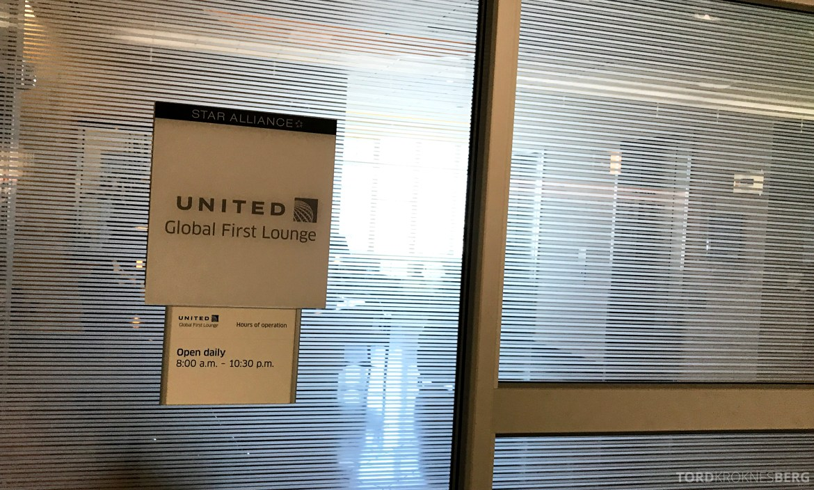 United Club Lounge San Francisco First Class
