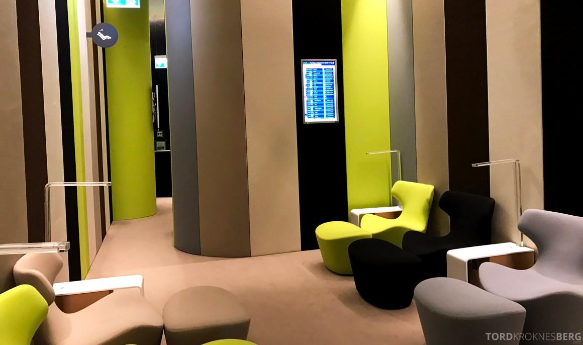 TAP Lounge Lisbon hvilerom