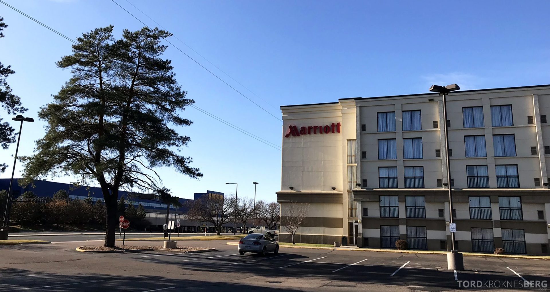 Marriott Bloomington Hotel fasade