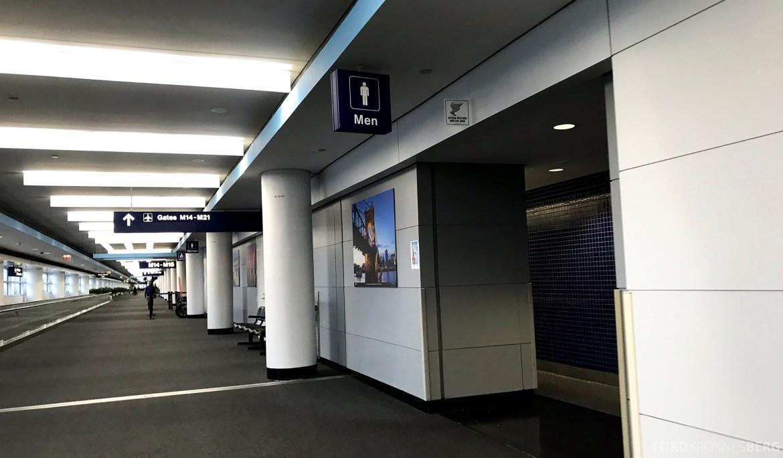 SAS Lounge Chicago toalett