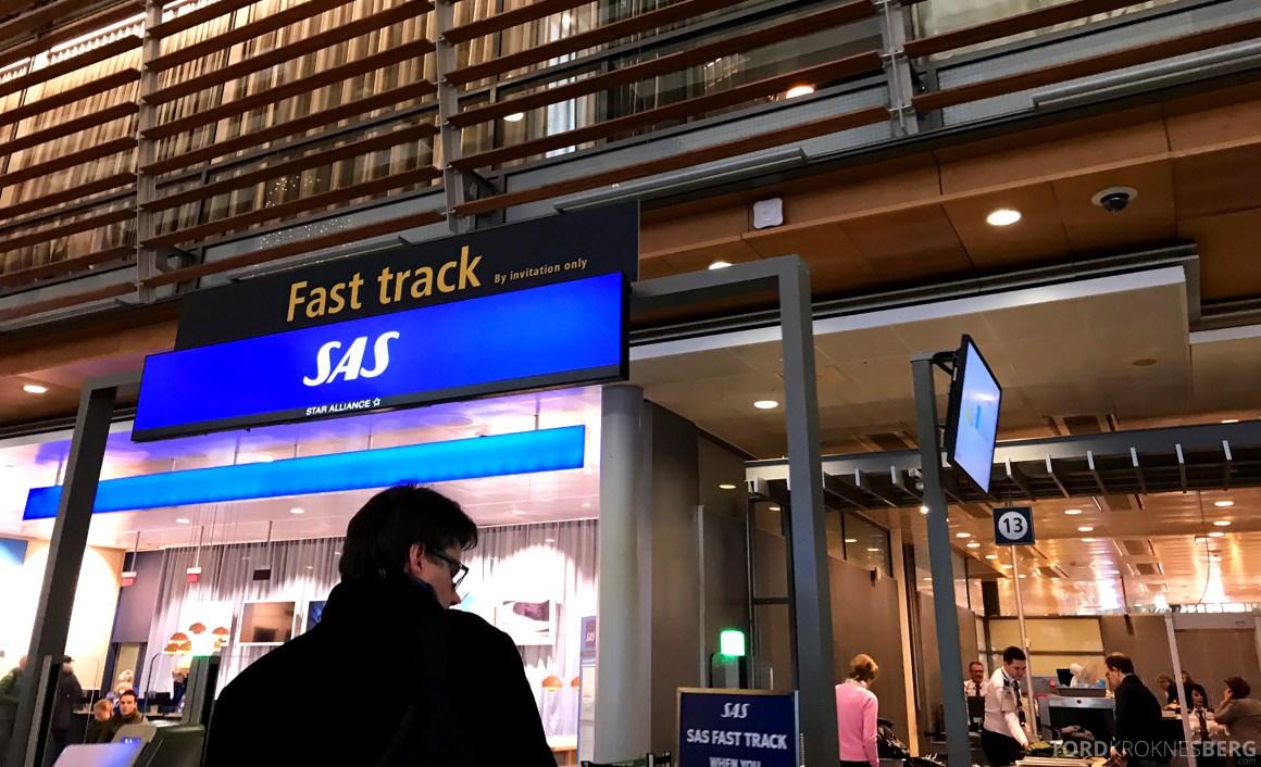 SAS Plus Oslo Paris fast track