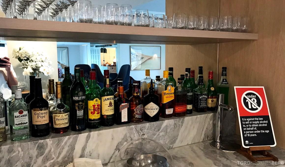 Four Seasons Hotel Sydney Lounge 32 hors d'oeuvre alkohol