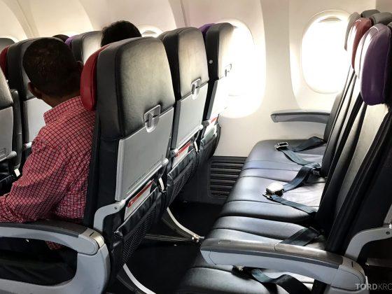Virgin Australia Economy Class Brisbane Sydney seter