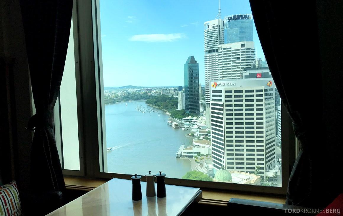 Brisbane Marriott Hotel Executive Lounge utsikt