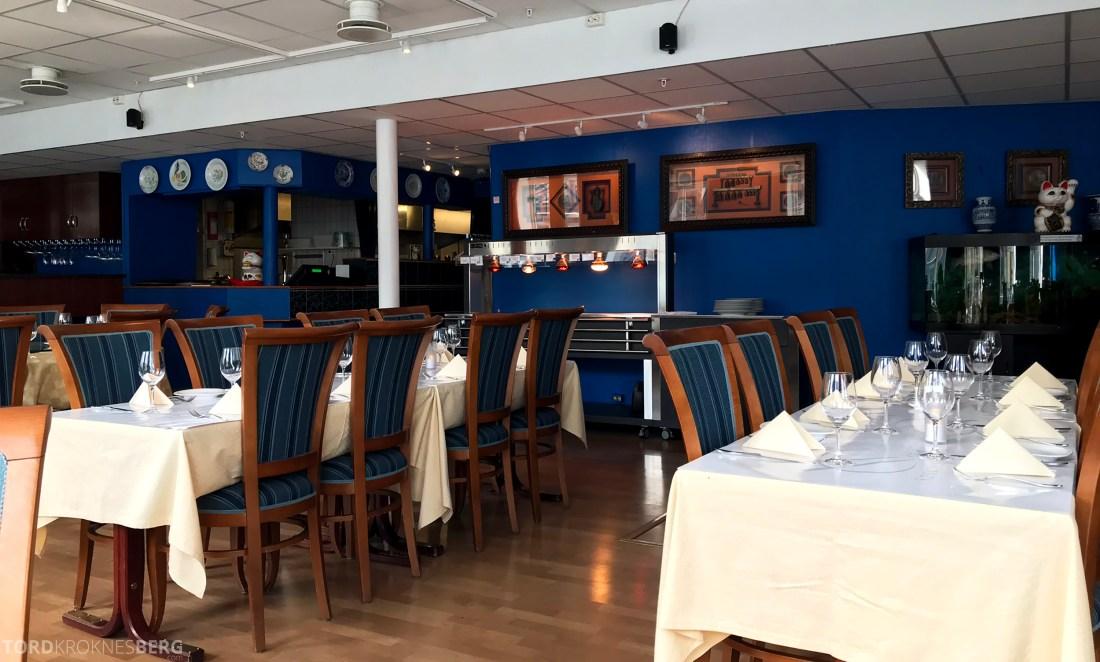 Szechuan Restaurant Trondheim interiør