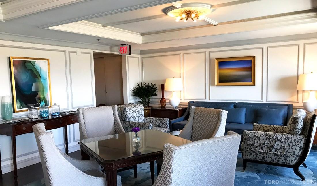 Ritz-Carlton Marina del Rey Los Angeles Hotel Club Lounge interiør