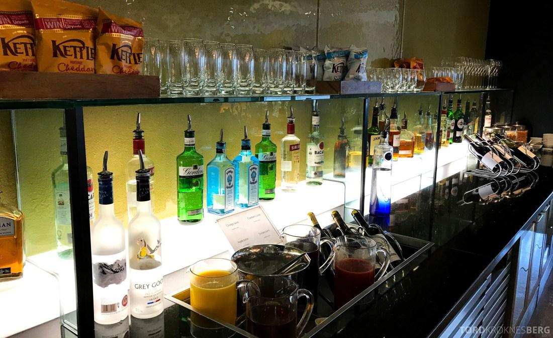 British Airways Galleries First Lounge Heathrow bar