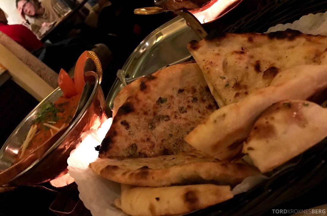 Jewel of India Restaurant Oslo nanbrød