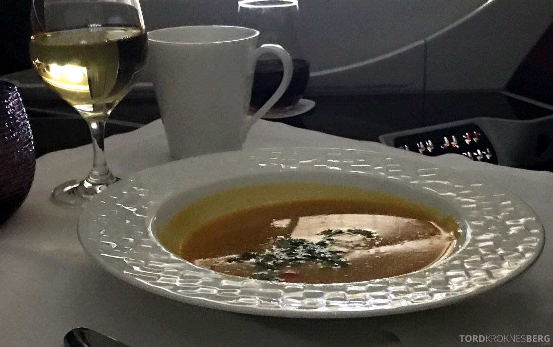 Qatar Airways Business Class Doha Penang suppe