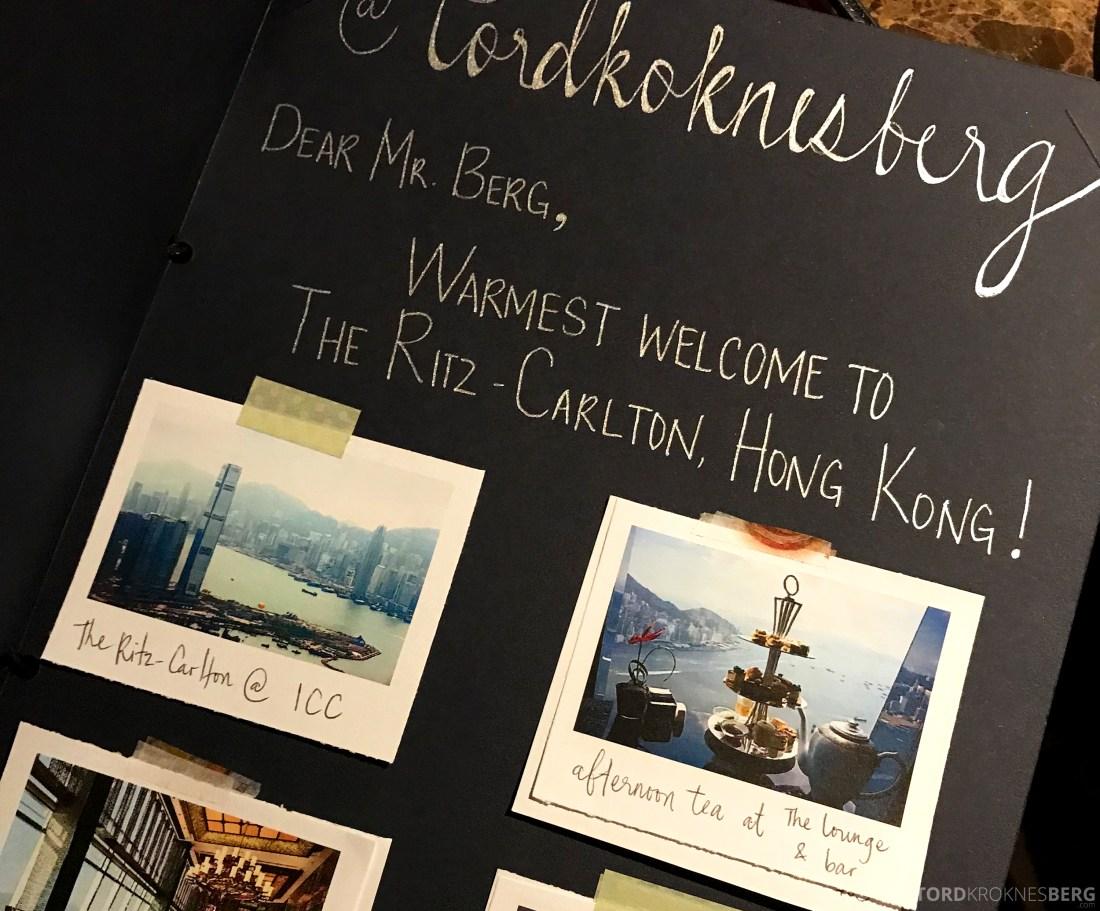 Ritz-Carlton Hong Kong Hotel gave