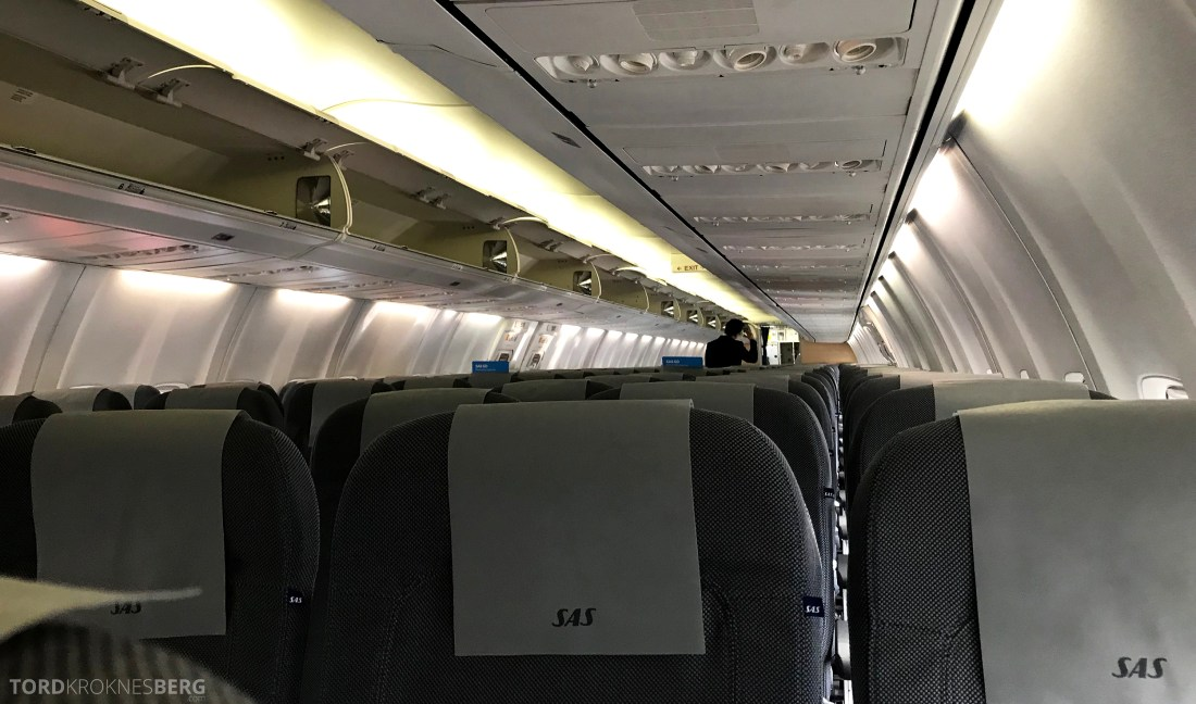 SAS Plus Oslo Berlin kabin