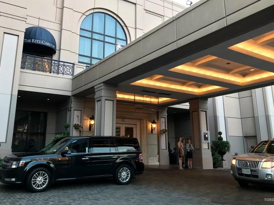 Ritz-Carlton Pentagon City Hotel hovedinngang