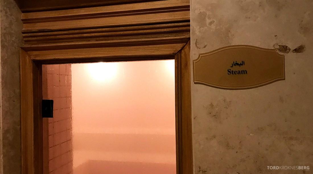 Ritz-Carlton Doha Hotel steam