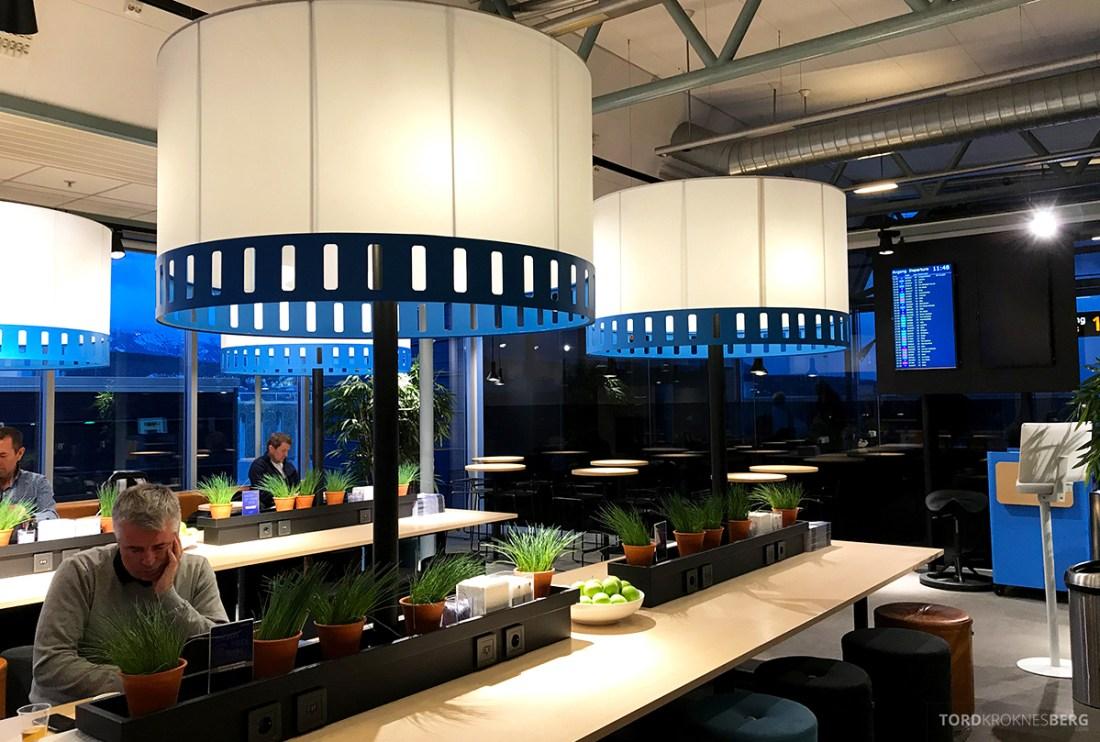 SAS Café Lounge Tromsø plasser