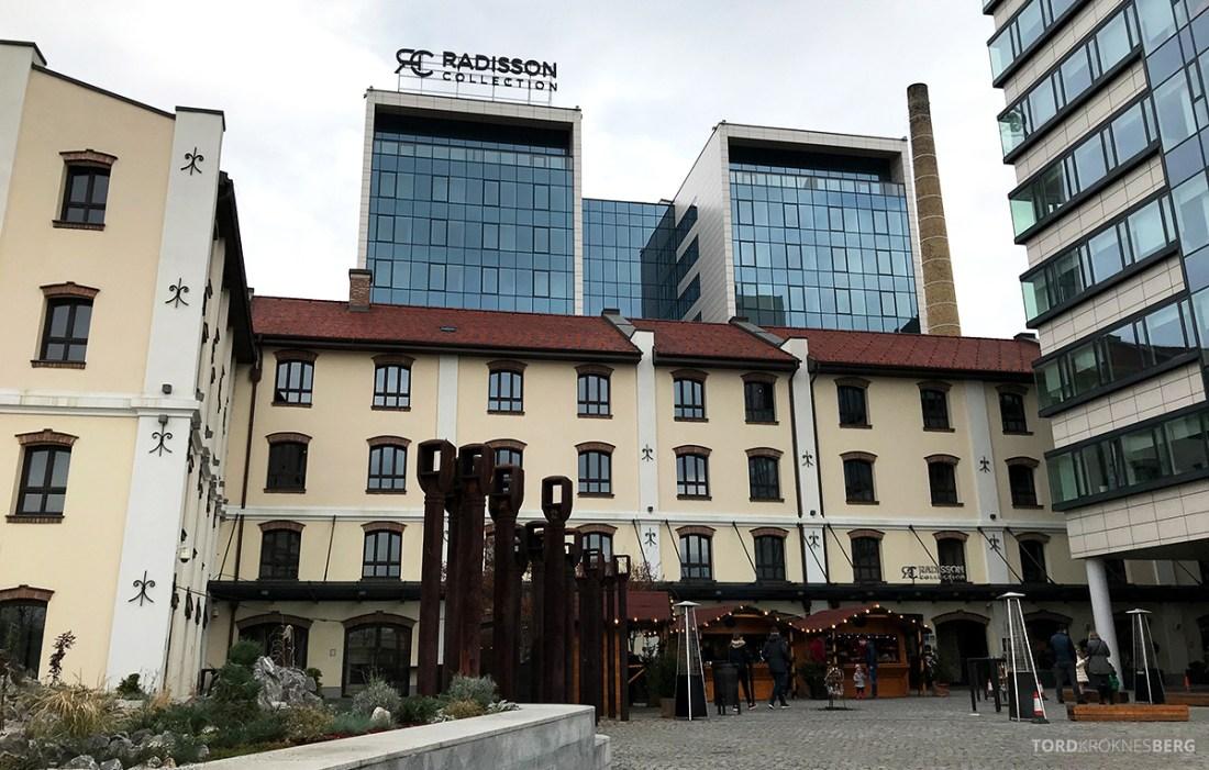 Radisson Collection Hotel Old Mill Belgrade fasade