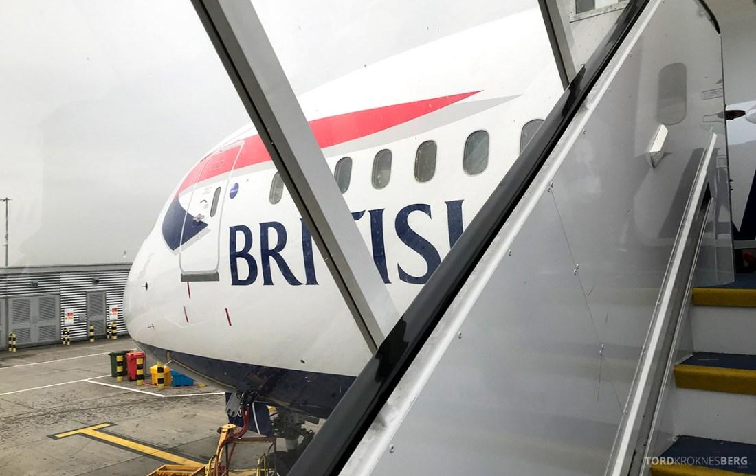 British Airways Club World Business Class London Seoul flyvemaskin