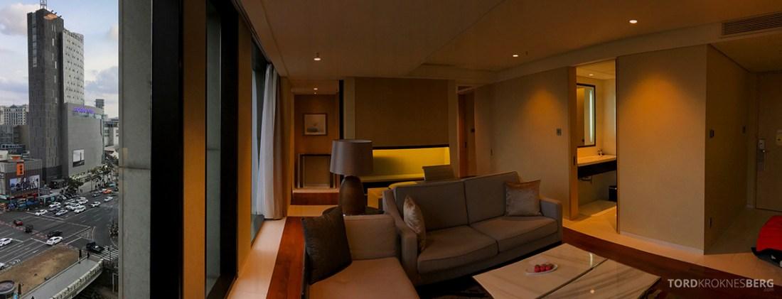 JW Marriott Dongdaemun Square Hotel Seoul suite panorama