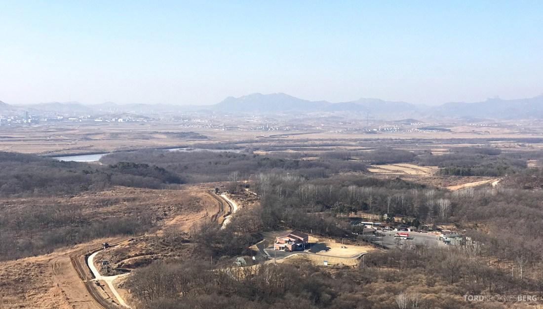 DMZ Tour Seoul North Korea utsikt 2
