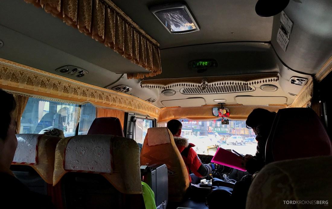 DMZ Tour Seoul North Korea minibuss