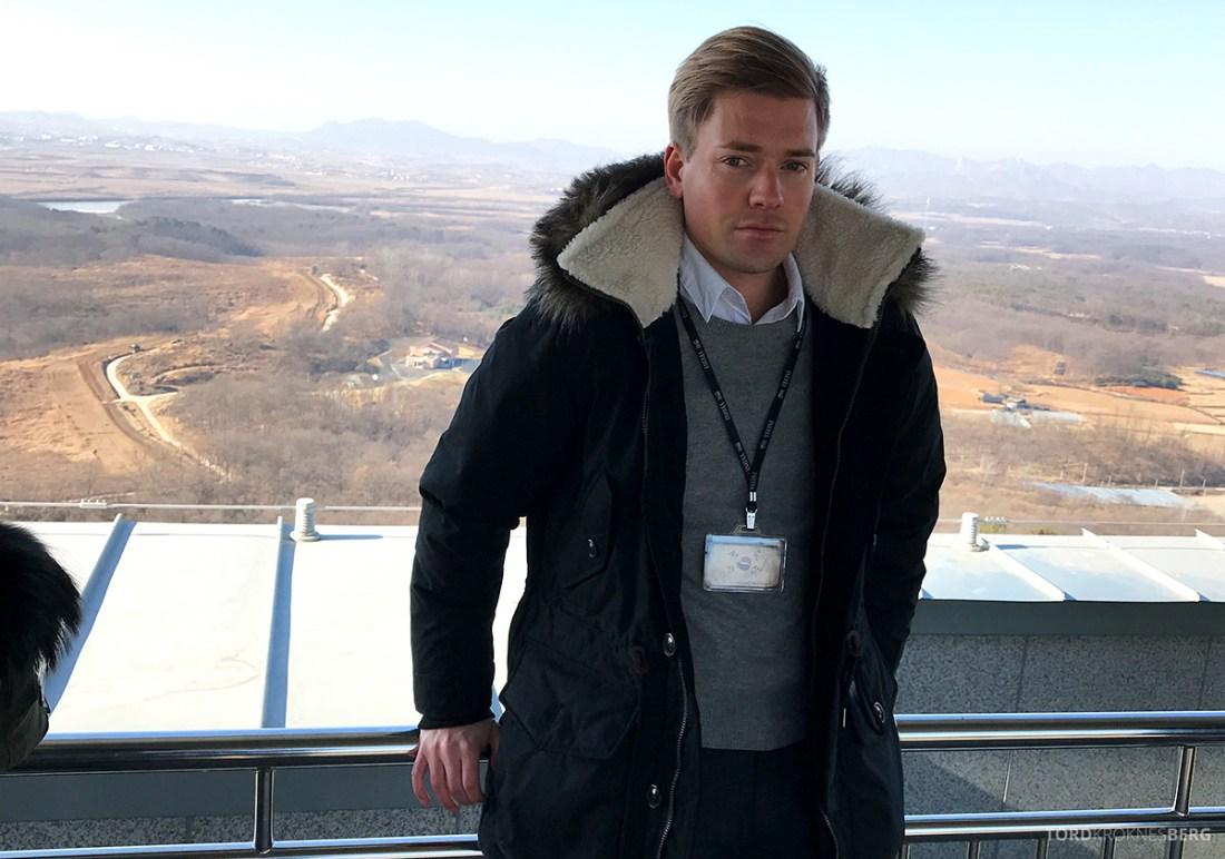 DMZ Tour Seoul North Korea Tord Kroknes Berg