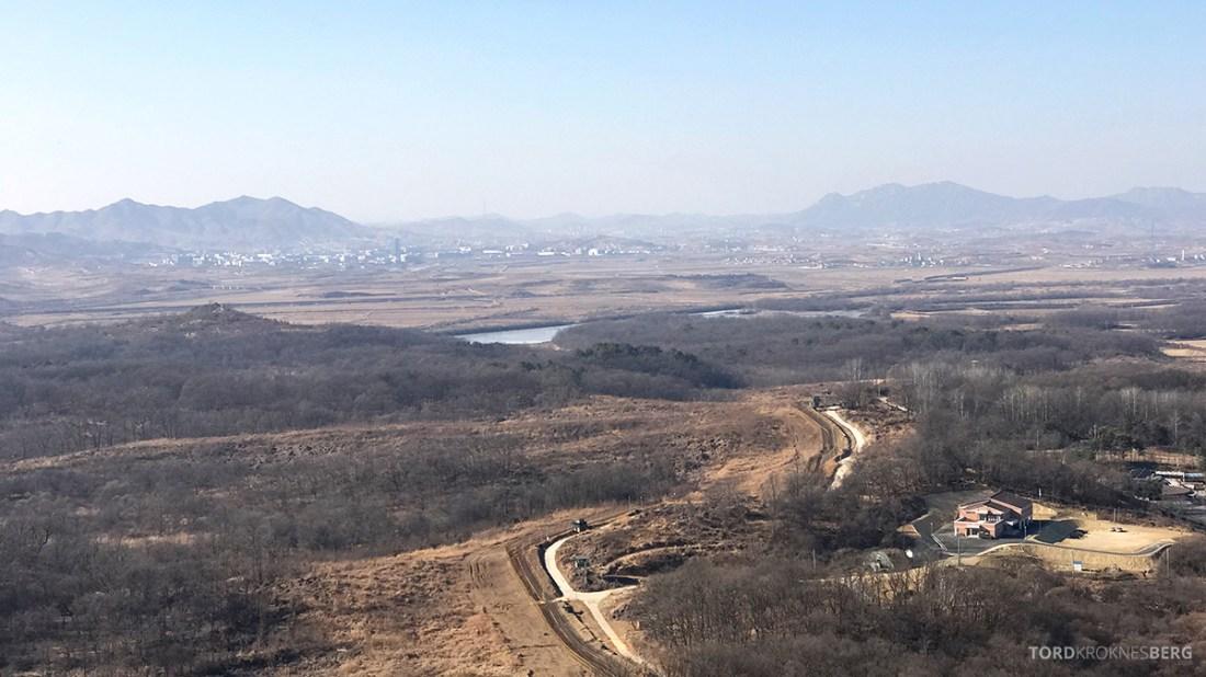 DMZ Tour Seoul North Korea utsikt Nord-Korea
