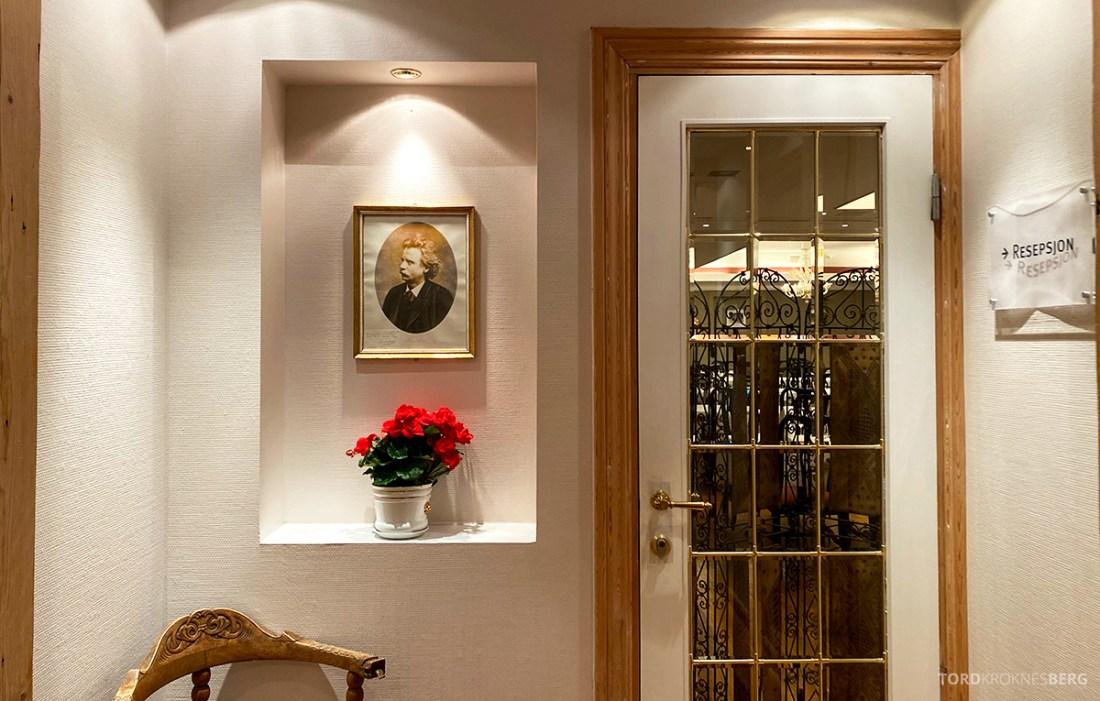 Hotel Ullensvang Hardanger Norge restaurant Edvard Grieg
