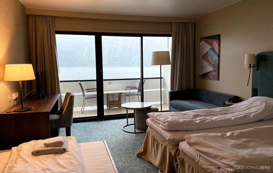 Hotel Ullensvang Hardanger Norge værelse