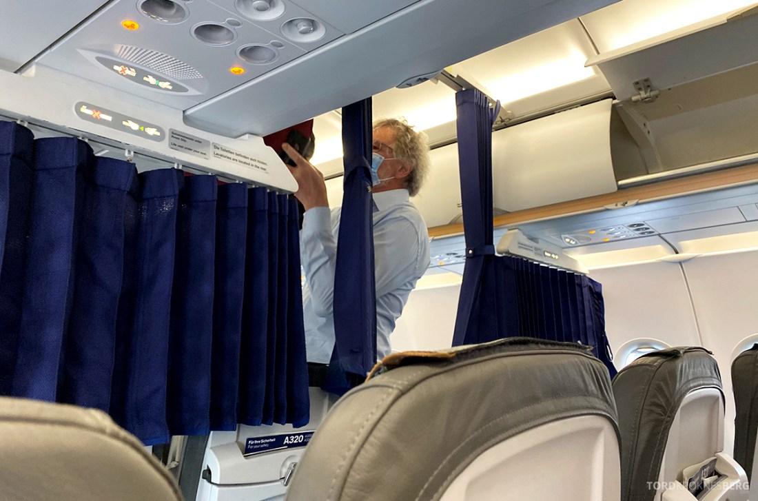 Lufthansa Economy Business Class Covid19 forheng