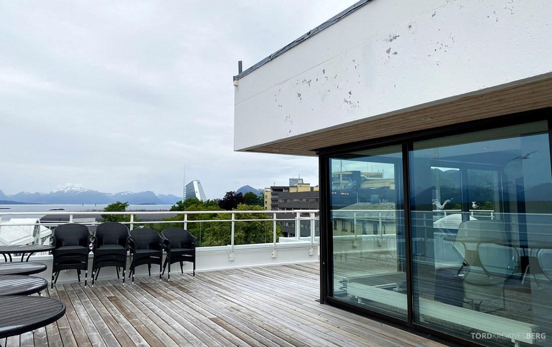 Scandic Alexandra Hotel Molde Alexandrasuiten terrasse