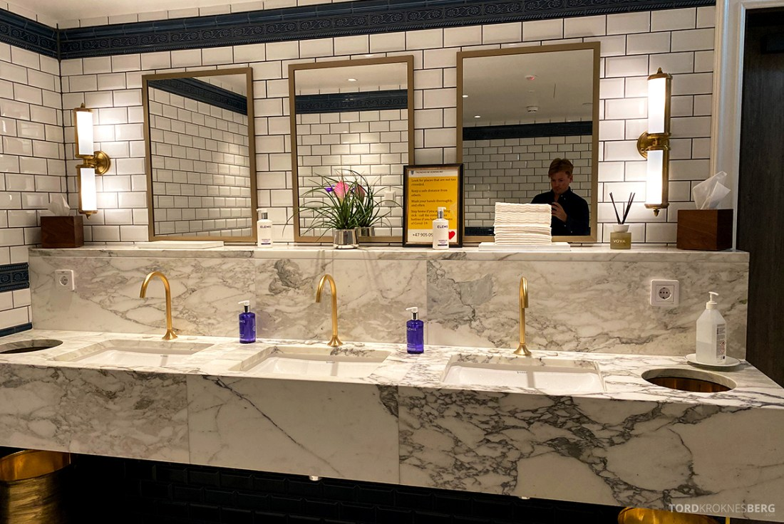 Jonathan Grill Restaurant Trondheim toalett