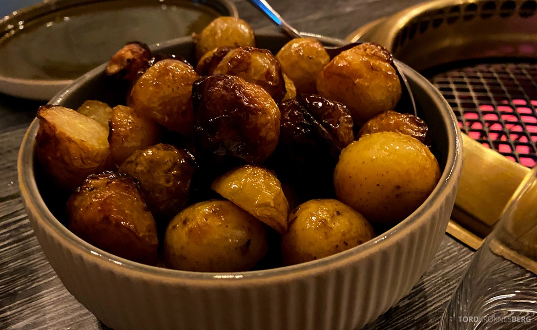 Jonathan Grill Restaurant Trondheim poteter