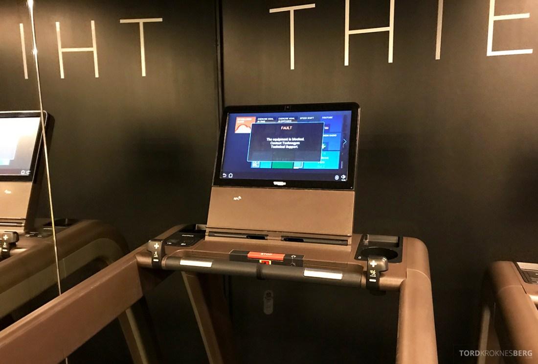 The Thief Spa Gym Oslo teknisk svikt
