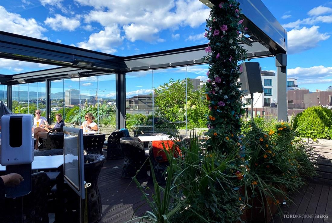 Thief Roof Grill Restaurant Oslo bar