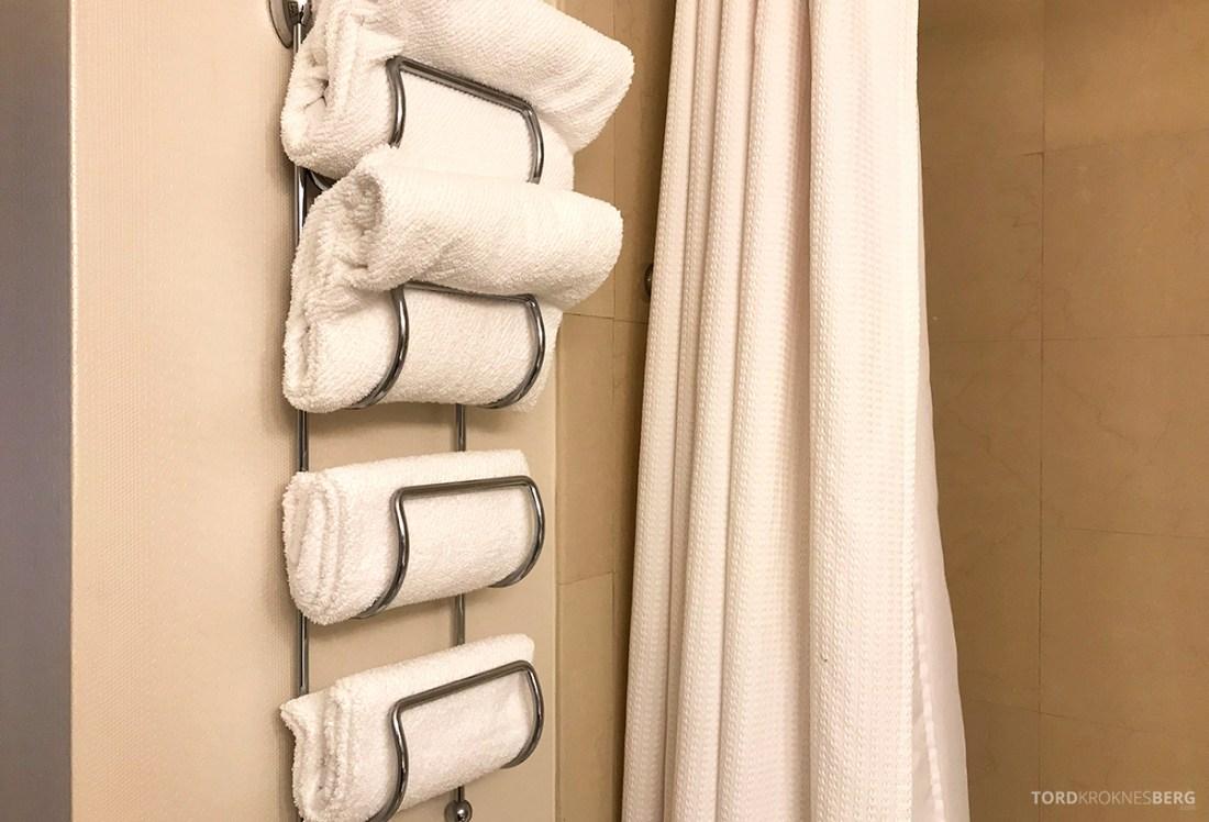 Renaissance Newark Airport Hotel håndklær