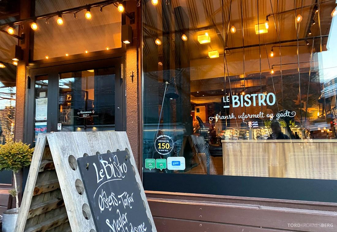 Le Bistro Restaurant Trondheim utenfor