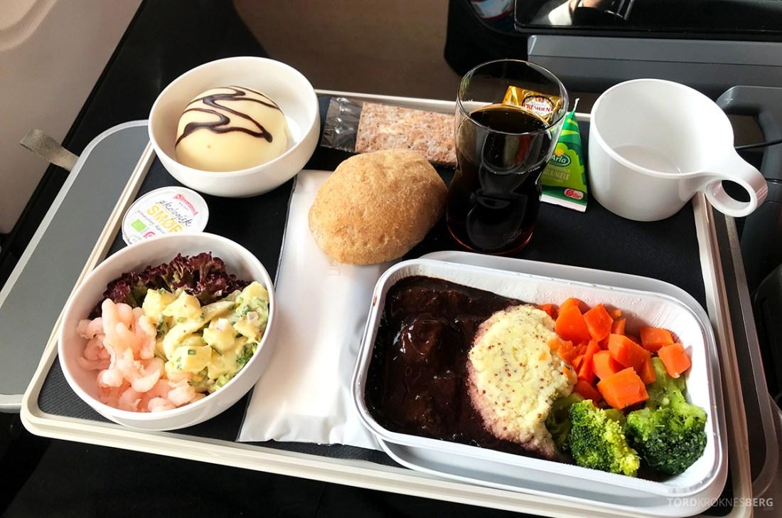 SAS Plus New York Oslo direkte dag middag
