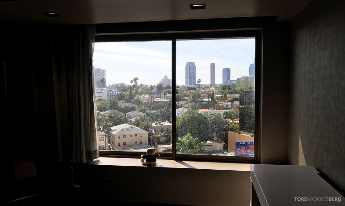 Beverly Hills Marriott Hotel utsikt reisefølget