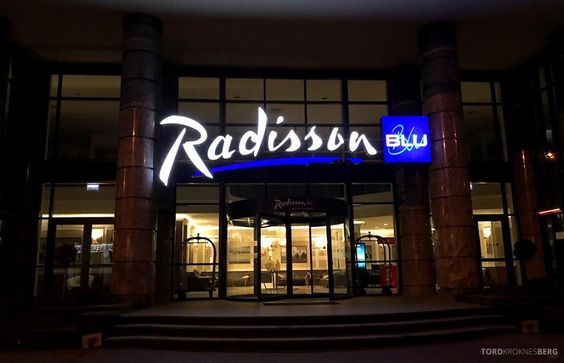 Radisson Blu Hotel Kyiv Podil fasade