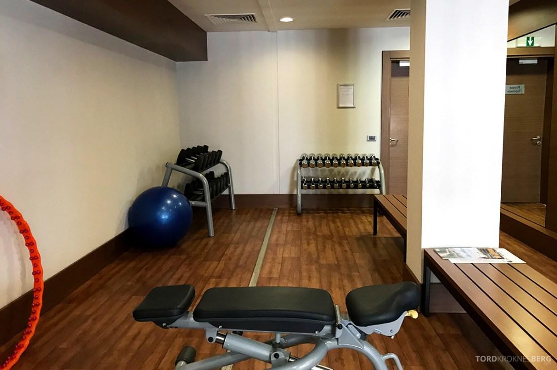 Radisson Blu Hotel Kyiv Podil vekter gym