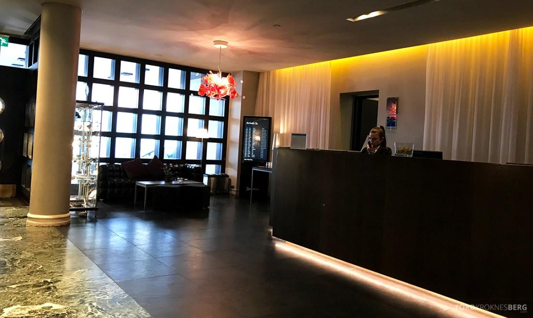 Radisson Blu 1919 Hotel Reykjavik resepsjon