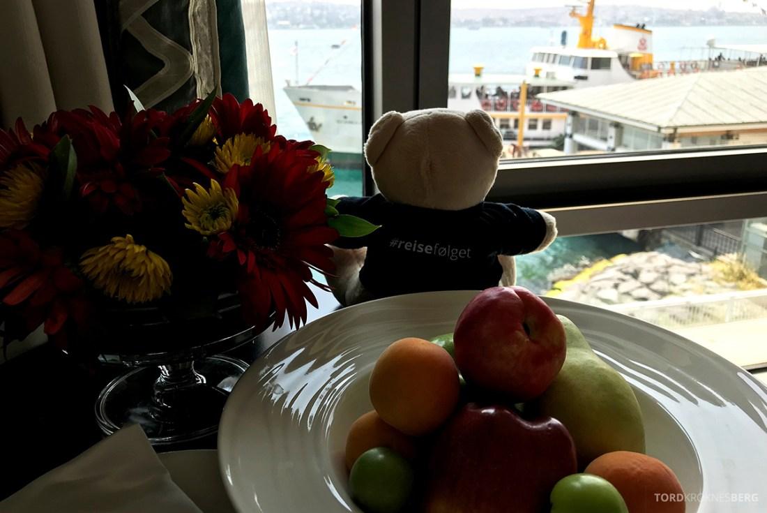 Shangri-La Bosphorus Istanbul Hotel reisefølget utsikt